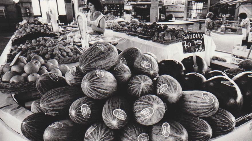 Cuando lechugas y melones poblaban el Mercado de Colón