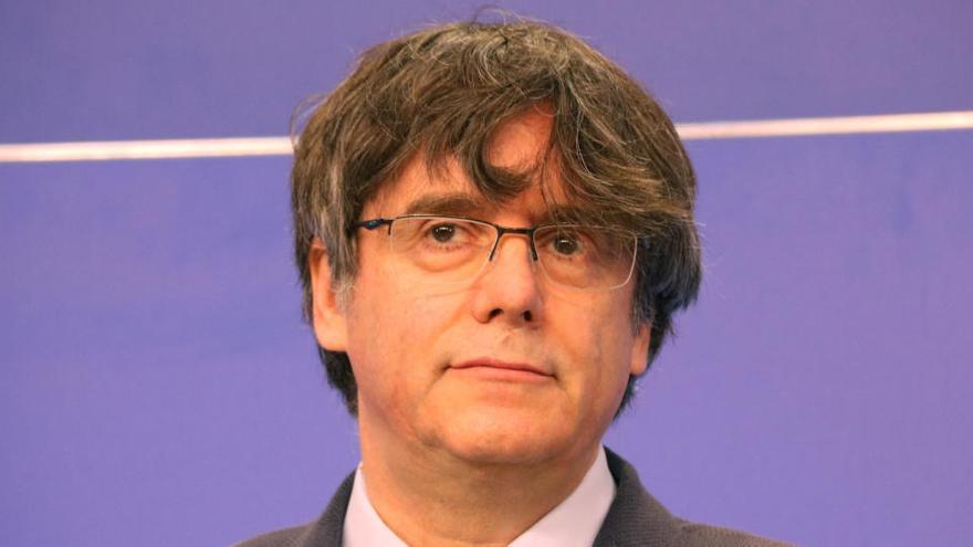 """Puigdemont diu que la votació del suplicatori és sobre """"la idea de democràcia"""" de la Unió Europea"""