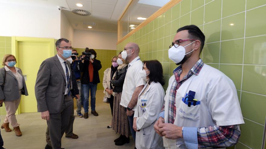 Renuevan el consultorio de Churra con seis nuevas consultas