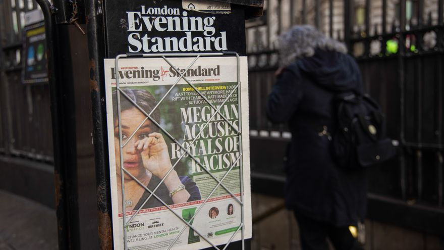 La prensa británica, dividida ante las acusaciones de racismo de los Sussex