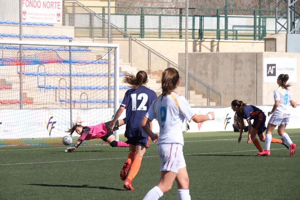 Campeonato de Selecciones Autonómicas de fútbol femenino sub-15 y sub-17 en Elda