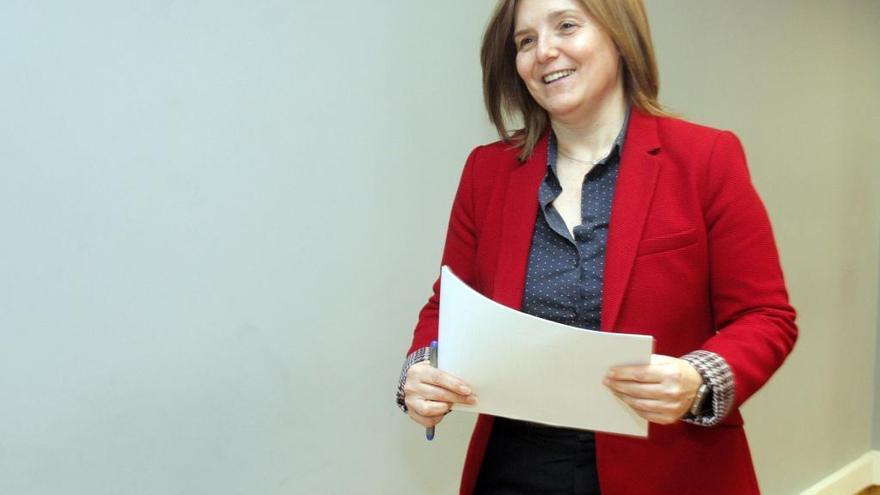 Ferraz devuelve a Pilar Cancela el bastón de mando del PSdeG