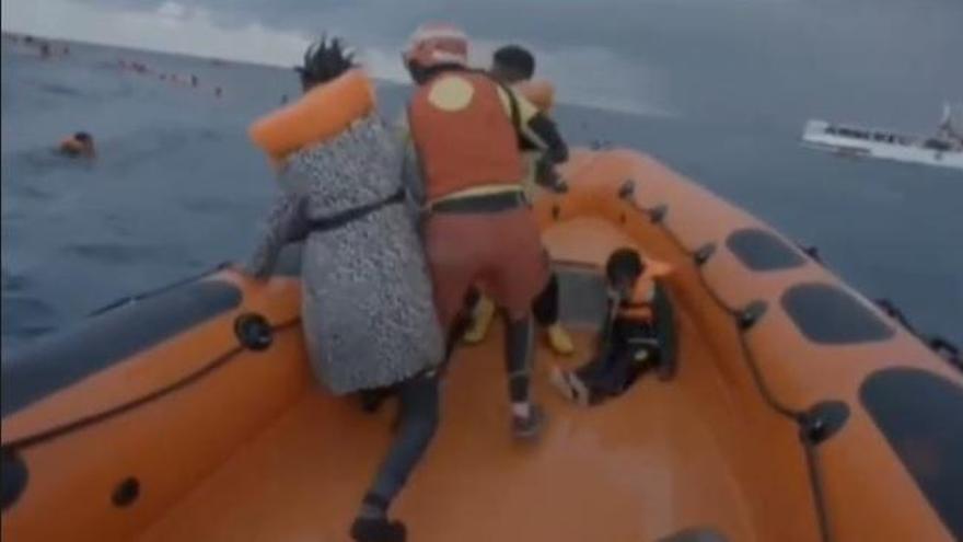 Muere una bebé de seis meses rescatada por Open Arms tras un naufragio