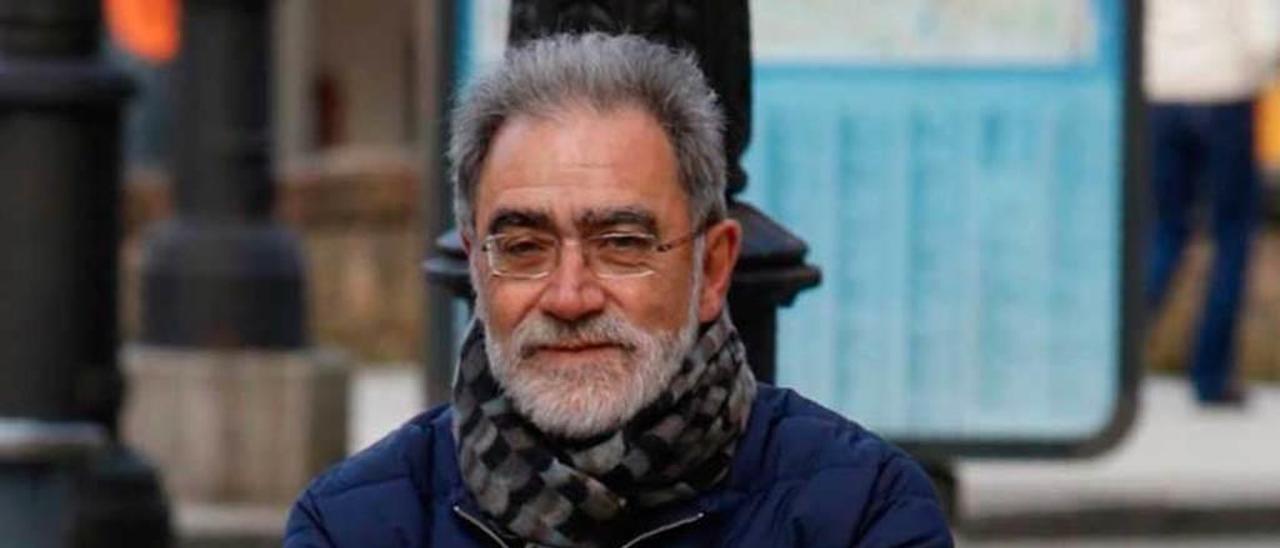 Manuel Matallanas, en Oviedo.