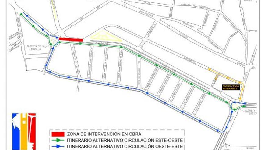 La avenida de Cánovas de Don Benito se cortará al tráfico por obras el próximo día 13