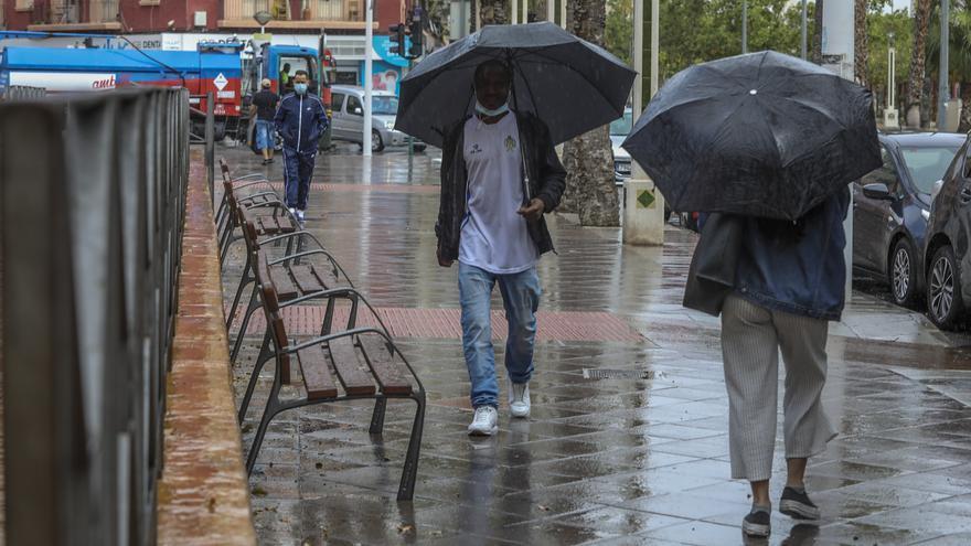 El tiempo en Alicante: un frente de borrascas dejará hasta 60 l/m2 de lluvia en 12 horas entre mañana y el sábado