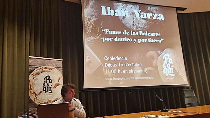 Conferencia de Ibán Yarza sobre el pan balear