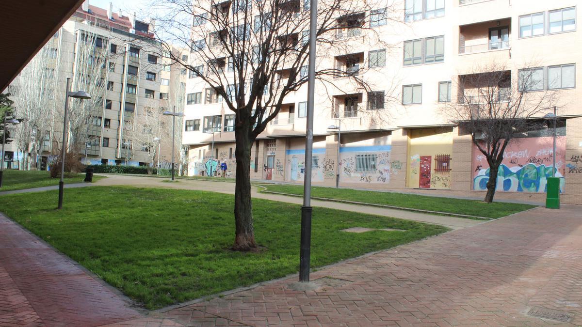 Parque que pasará a denominarse Ursicina Martínez Gallego.