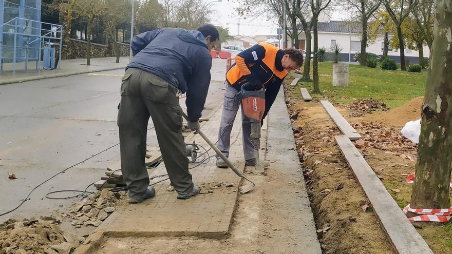 Monesterio ejecutará obras en caminos y asfaltado de calles con cargo al Plan Cohesiona de Diputación