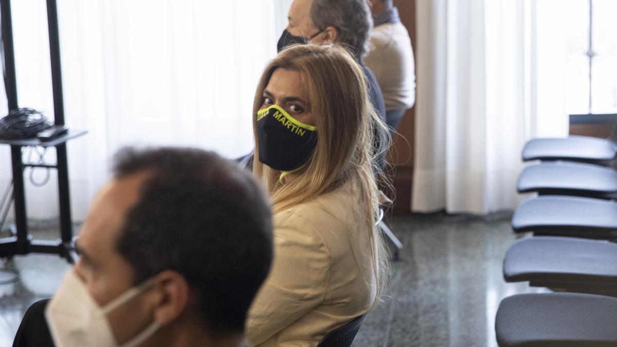 Primera sesión del juicio por la pieza del caso Invercaria relativa a la modista Juana Martín