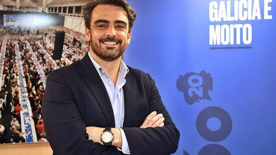 """Diego Calvo: """"Feijóo necesitará el apoyo de la Corporación coruñesa para atraer grandes proyectos"""""""