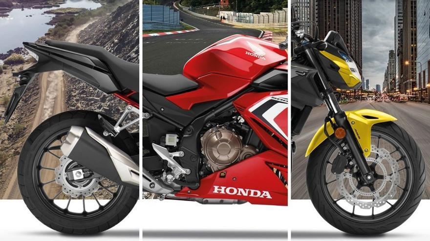 Honda anuncia novedades para su gama CB500 en Europa
