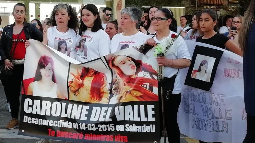 """La madre de la desaparecida Caroline del Valle: """"Todos tienen derecho a ser buscados"""""""