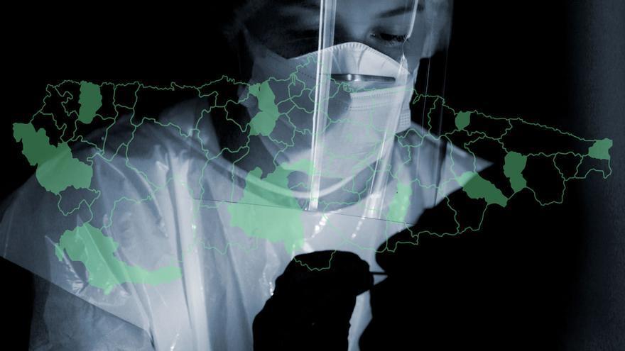 Estos son los concejos de Asturias que llevan dos semanas sin registrar ningún positivo por coronavirus