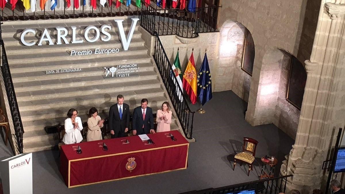 """Felipe VI apuesta por seguir trabajando por """"una verdadera Europa de y para los ciudadanos"""""""