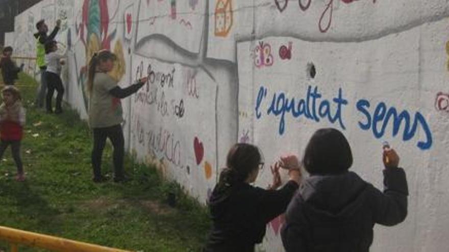 El barri de la Balconada promou entre els infants el respecte a l'entorn natural
