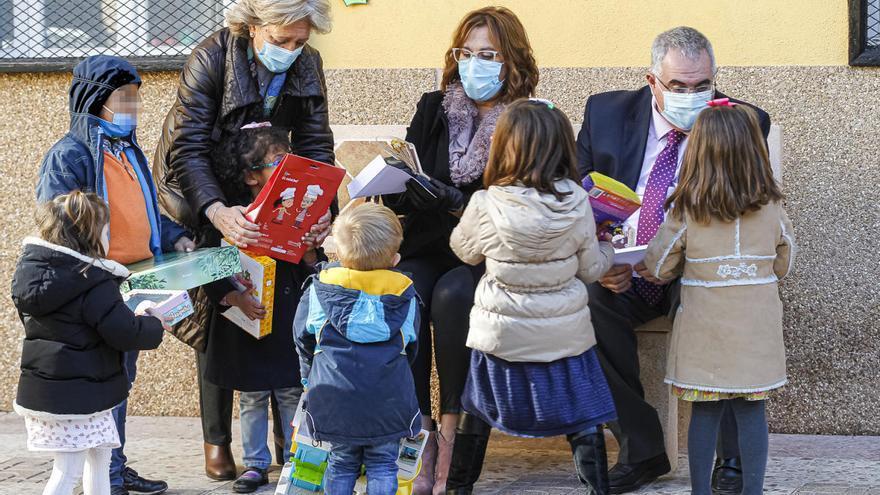 La Navidad en los centros de menores tutelados de la Región