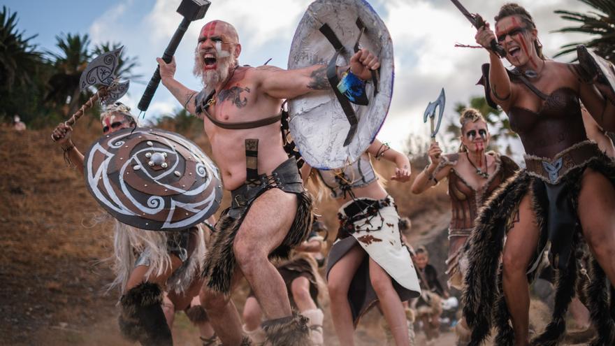 Vikingos en Santa Cruz