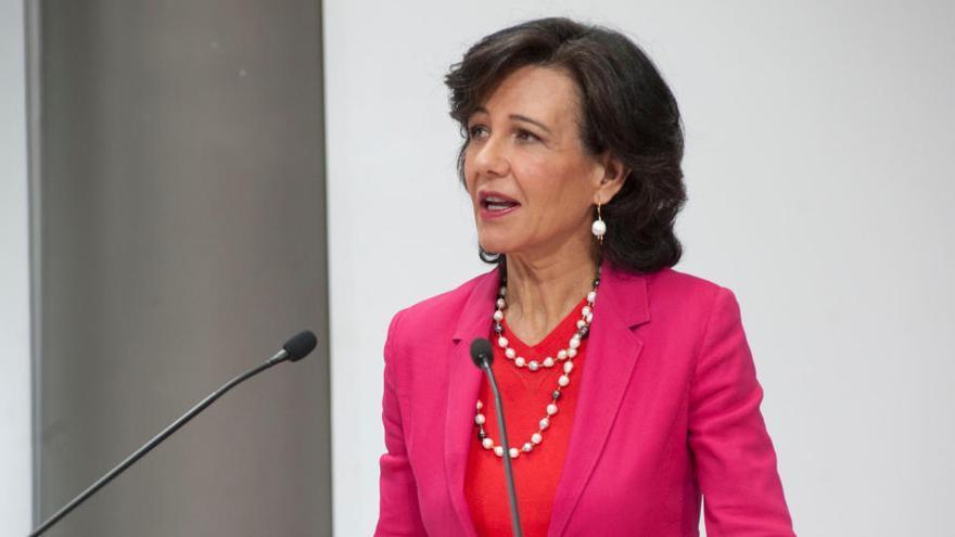 El Santander perd 8.771 milions després d'actualitzar el fons de comerç i fer provisions davant la covid-19