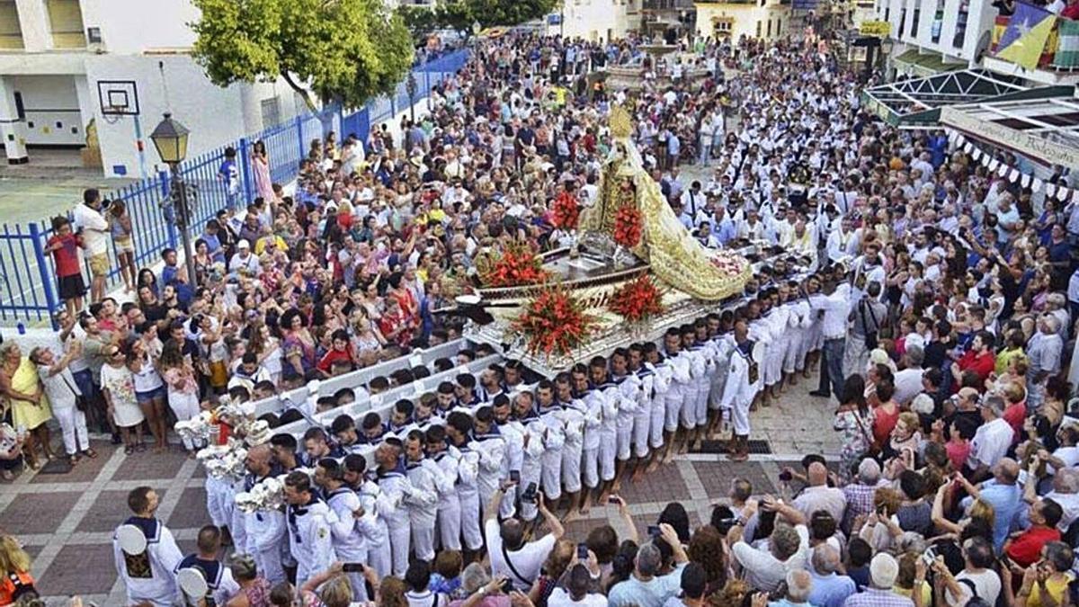 Este año no se celebrarán las tradicionales procesiones de la Virgen del Carmen
