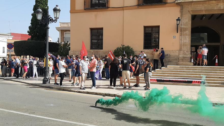 Nueva protesta de CCOO en Paterna