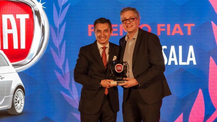 Fiat guardona Garatge Sala com a millor concessionari del 2019