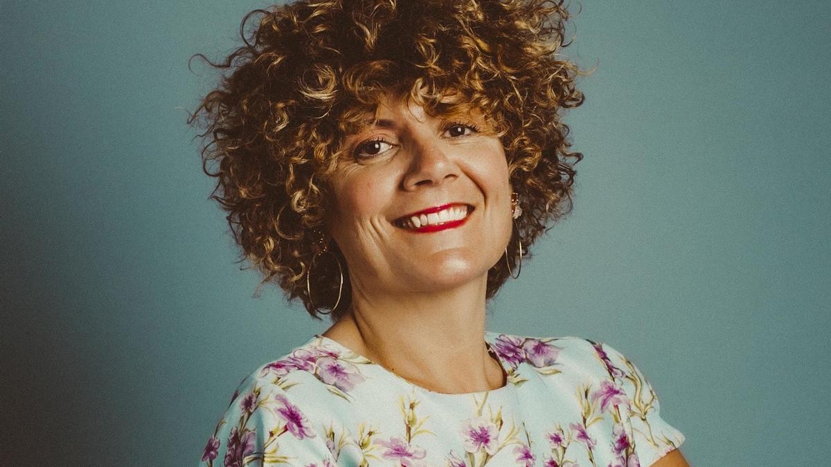 Pilar Hernández, maestra.