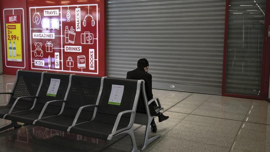 El aeropuerto de Palma vuelve a hibernar