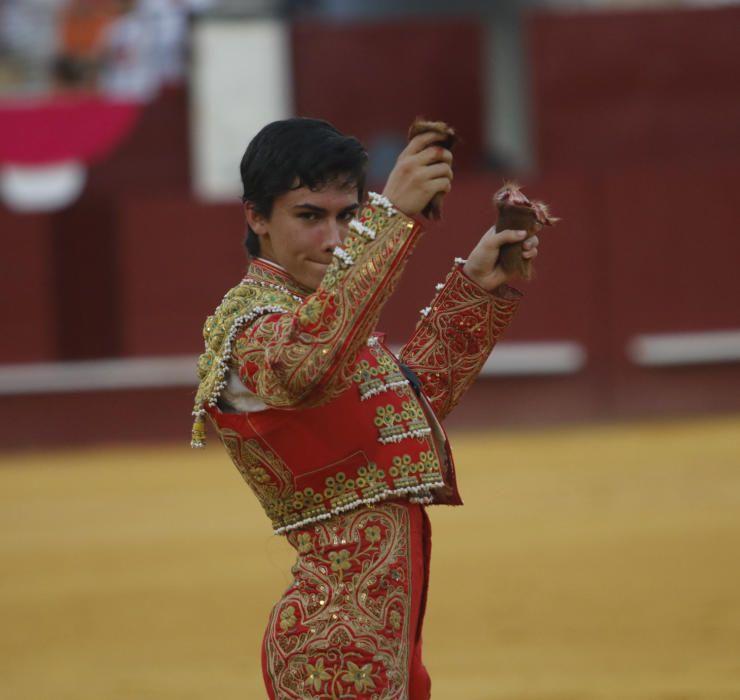 Primera semifinal del certamen de Escuelas Taurinas de Málaga