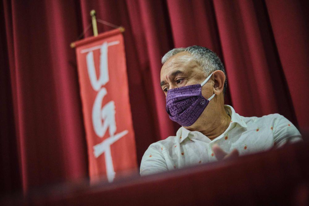 El secretario general de UGT, Pepe Álvarez, analiza las claves y reivindicaciones entral sindical se vienen realizando de cara a favorecer la recuperación