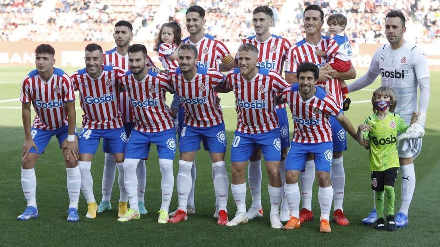 El Girona repeteix onze contra el Saragossa
