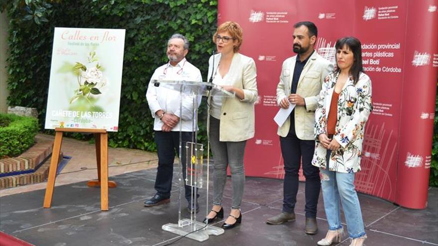 Cañete fusiona la cultura floral y el  arte contemporáneo en un festival