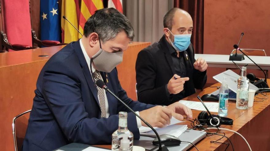 El conseller d'Interior anuncia al Bages més rapidesa per actuar contra ocupacions delinqüencials