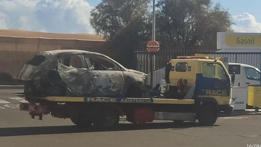 Al desguace el coche donde se encontró el cadáver