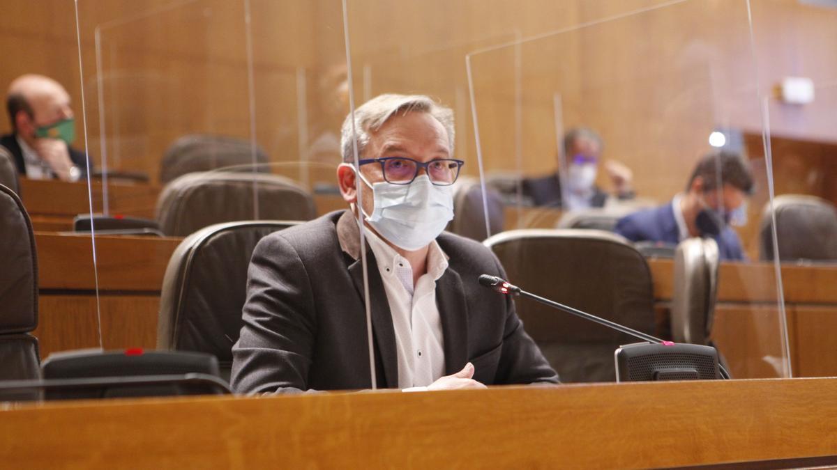 El diputado del PP Aragón Joaquín Juste.