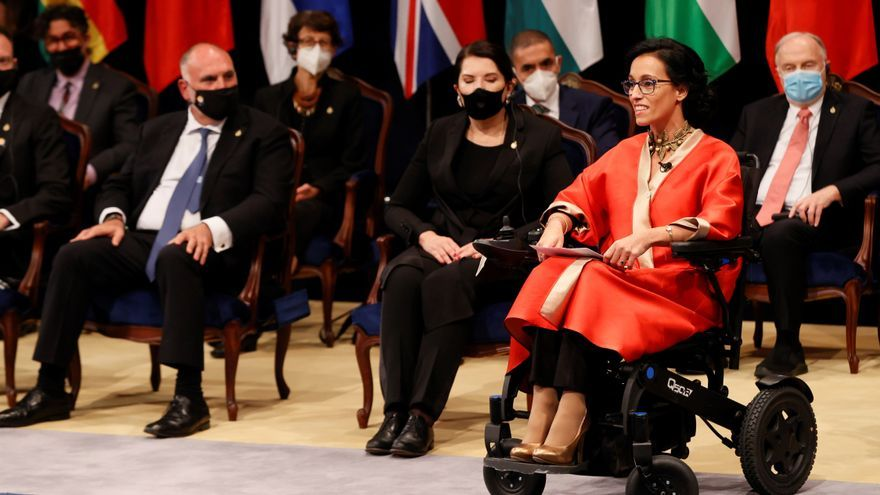 """Teresa Perales: """"Somos muchos los que nos esforzamos en hacer avanzar la sociedad hacia la igualdad"""""""