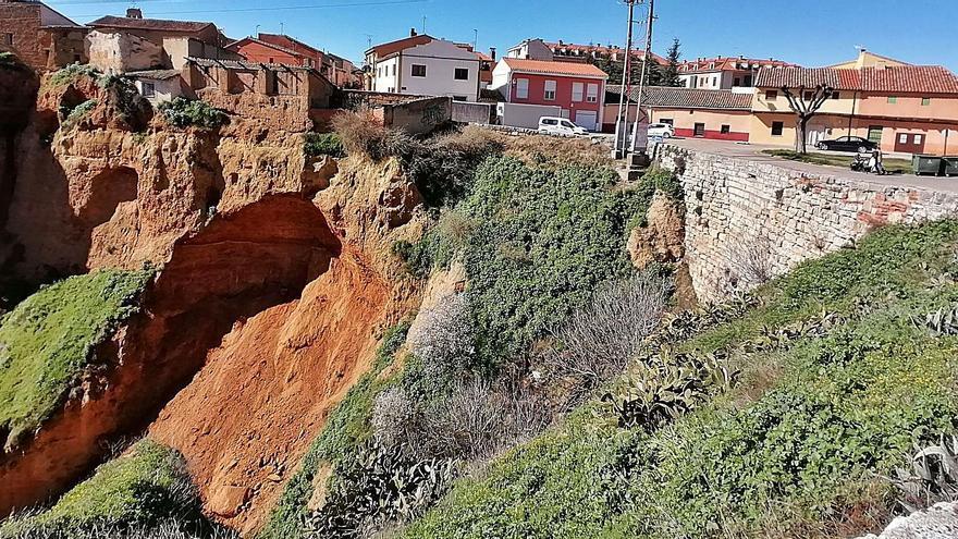 La erosión provoca nuevas cesiones en el Puerto de la Magdalena de Toro