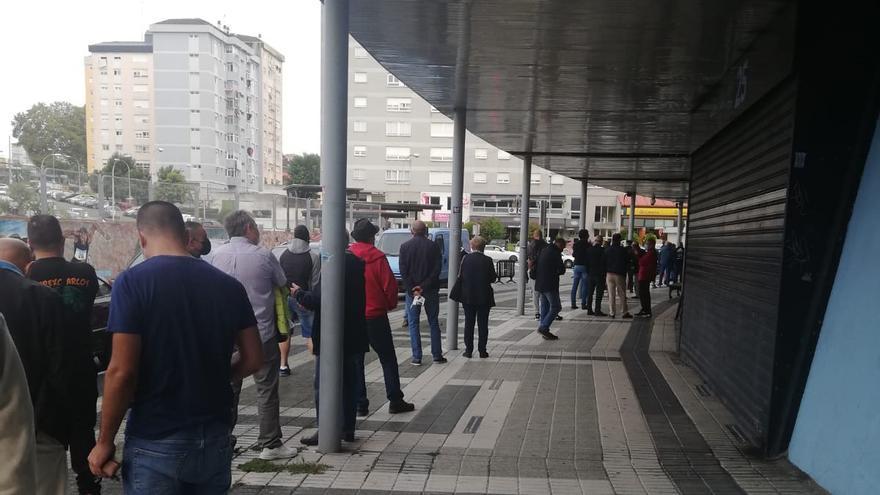 Vuelven las colas a Balaídos para cambiar de asiento en el partido contra el Granada