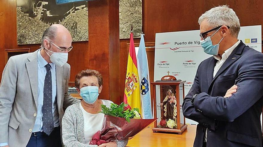 "El Puerto homenajea a María Díaz, ""Marujita"", emblema de O Berbés"