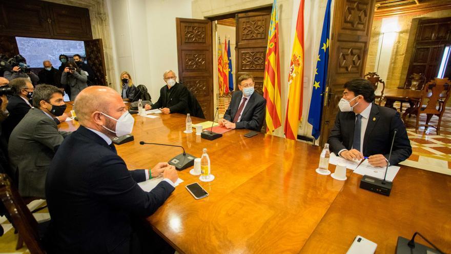 La Generalitat, diputaciones y ayuntamientos crean el fondo de 120 millones de euros para ayudar a empresas y autónomos