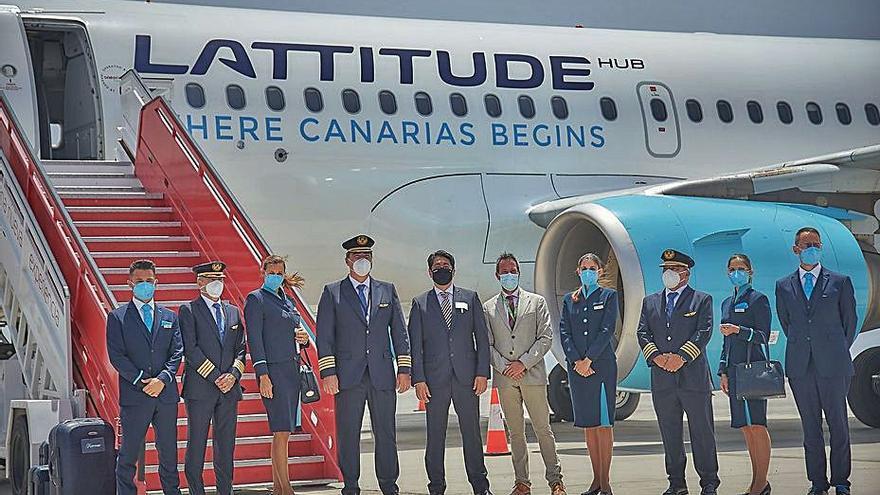 Lattitude Hub, la aerolínea de los hoteleros, hace su vuelo inaugural