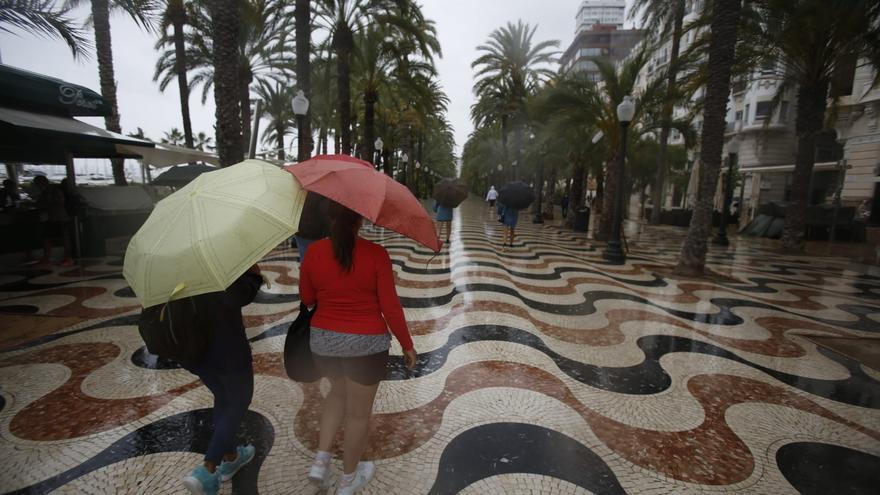 El tiempo en Alicante: Alerta amarilla por fuertes lluvias y descenso de las temperaturas en la provincia