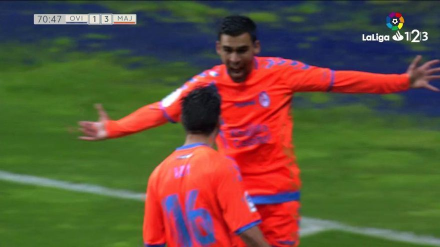 LaLiga 123: Los goles del Real Oviedo - Majadahonda (4-3)
