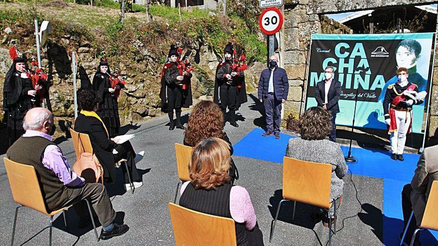 Ourense y Vigo rememoran a la figura clave de su historia, el coronel Cachamuíña