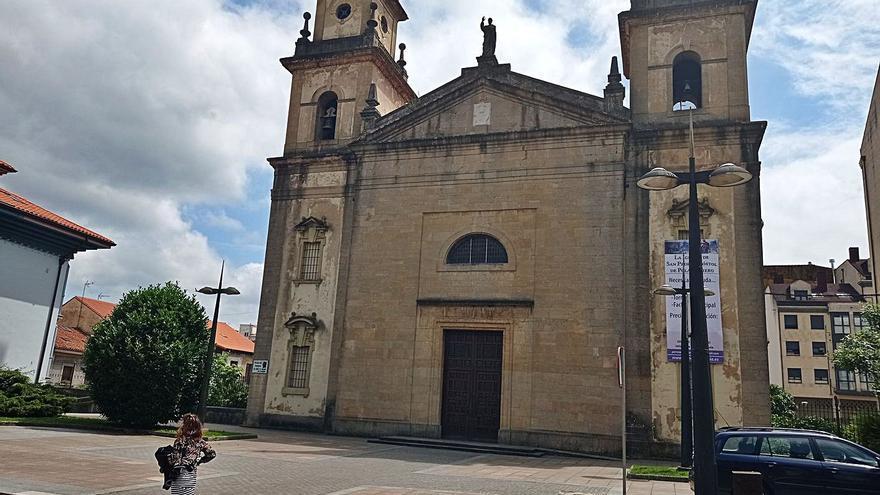 La cuestación para la iglesia de la Pola necesita 134.000 euros y el temor cunde entre la comisión parroquial