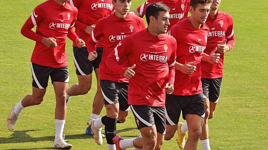 Pablo García, a disposición de Gallego para el partido frente al Girona