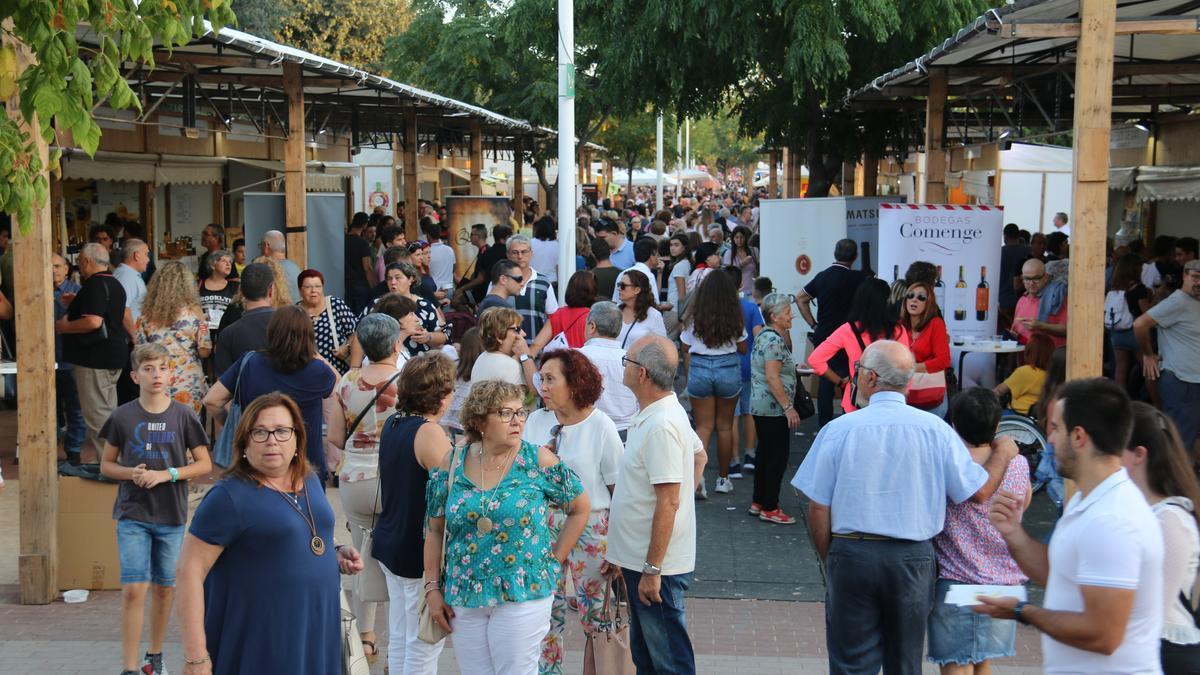 La Feria Gastronómica de l'Alcúdia de hace unos años