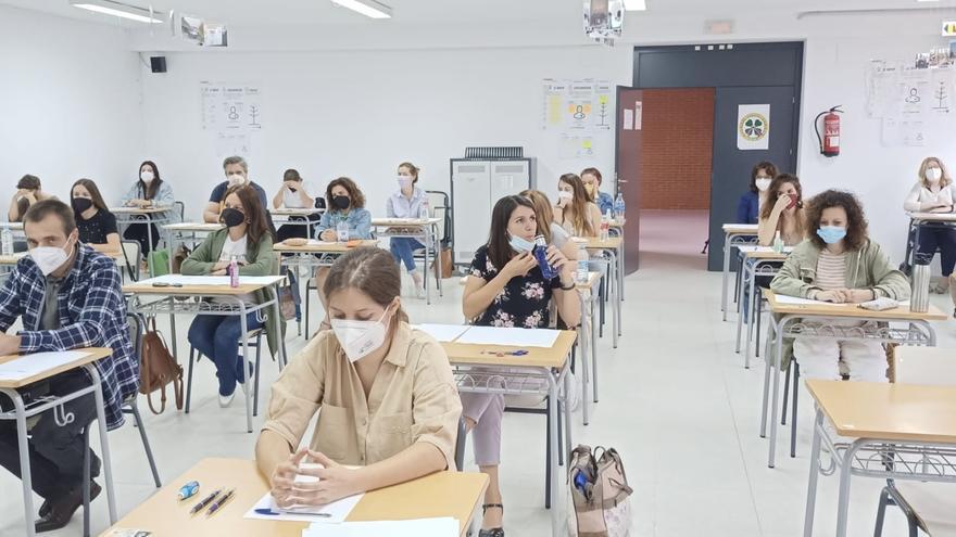 Casi el 83% de los aspirantes acude a las oposiciones a docentes en la región