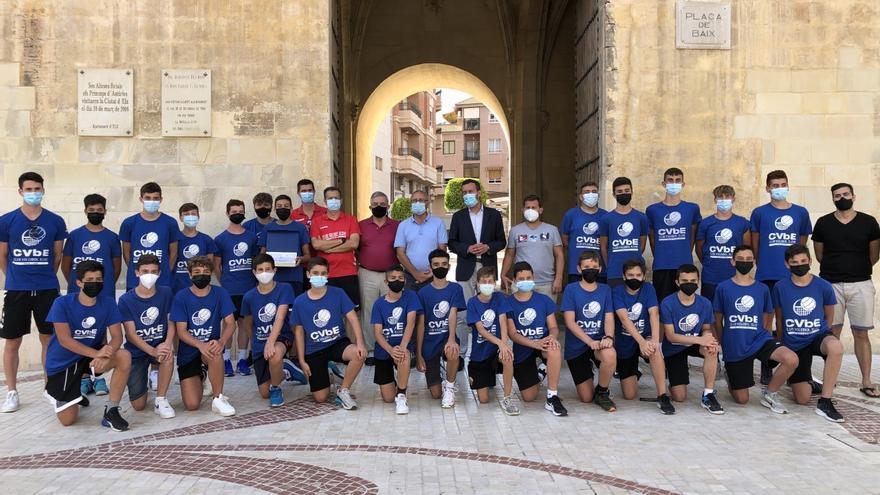 Nuevo éxito del Club Voleibol Salesianos en Elche