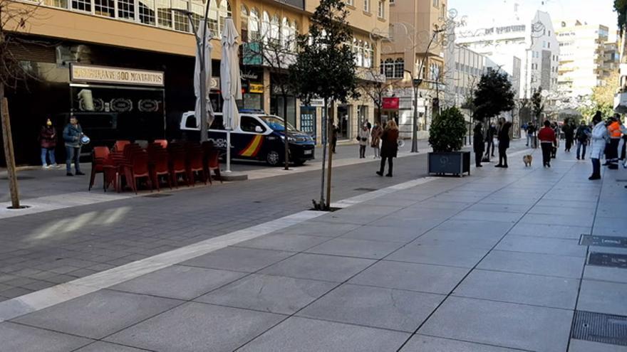 Nueva protesta del comercio en Cáceres